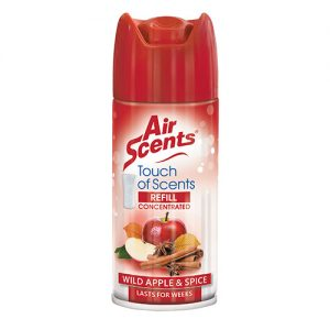 Air Scents Wild Apple and Spice Touch of Scents Refill