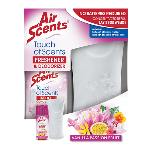 Air Scents   Touch of Scents Pack   Vanilla Passion Fruit