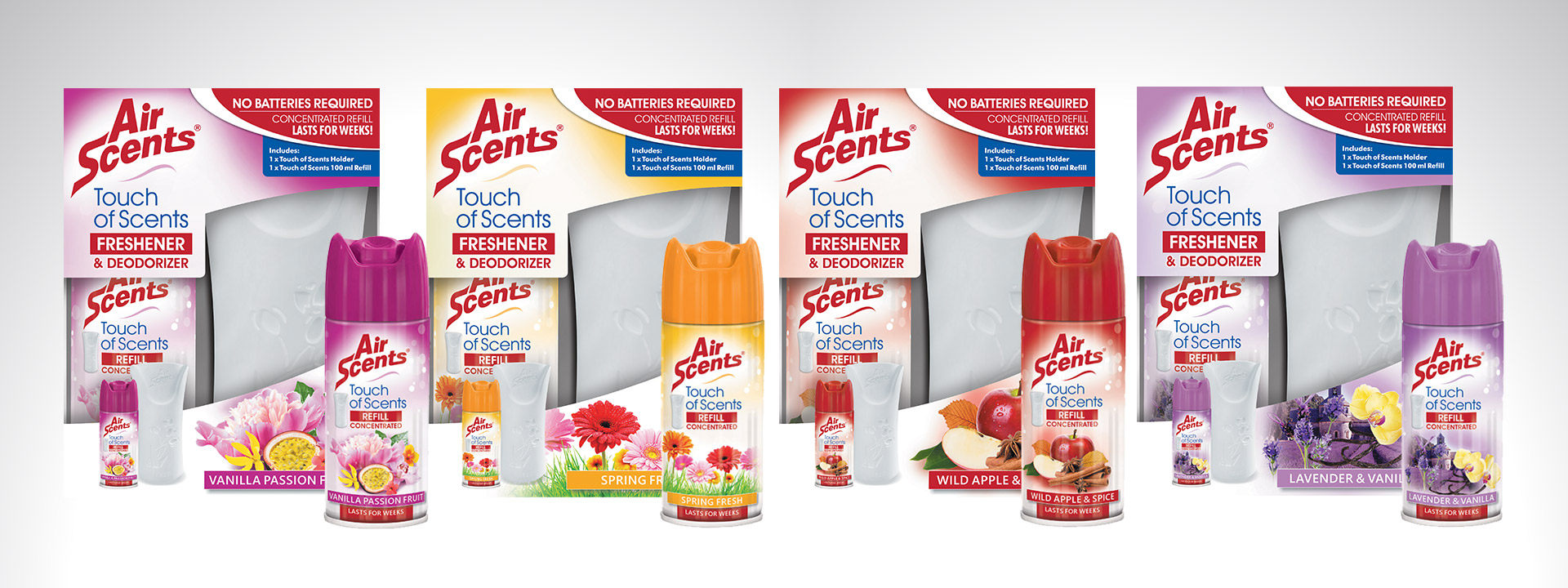 Air Scents | Touch of Scents | Freshener and Deodorizer