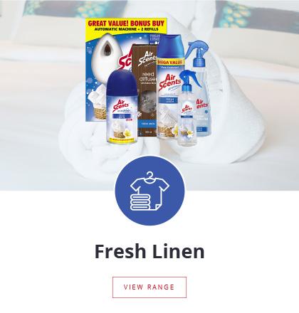Air Scents | Fresh Linen Fragrance Range