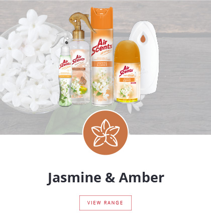 Air Scents | Jasmine and Amber Fragrance Range