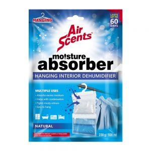 Air Scents Hanging Interior Dehumidifier – Natural – 250 g/ 500 ml