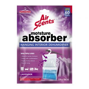 Air Scents Hanging Interior Dehumidifier – Lavender – 250 g/ 500 ml